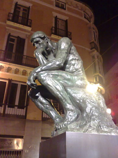 Spain: Rodin by night