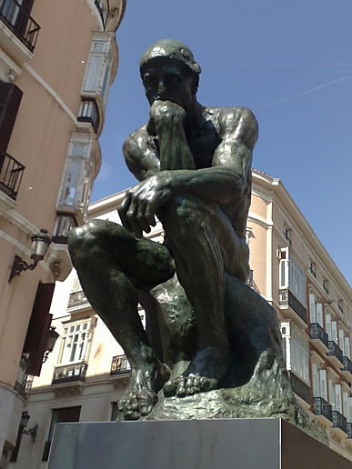 Spain: Rodin the thinker