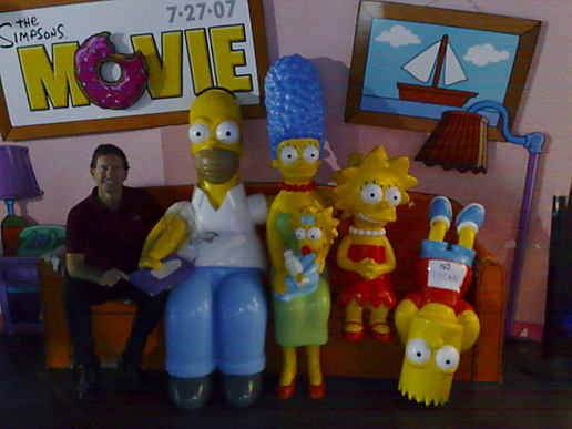 Spain: Simpsons movie