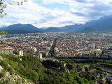 France: Grenoble city