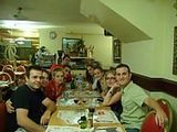 Spain: Spain's regular weekend...a good dinner before the party.