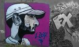 Streetart in bristol riverside update,