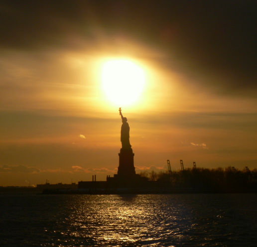 Liberty; the light of the world