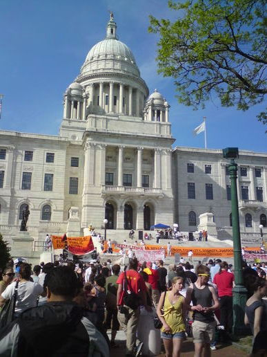 Protests in Providence