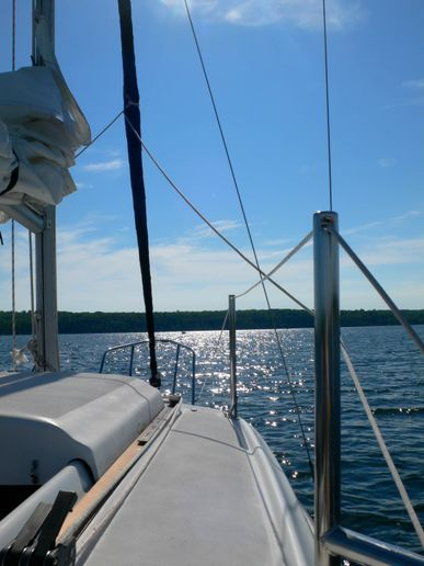Sailing on The Portage