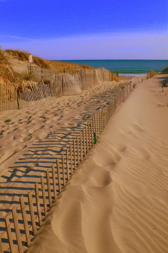 Sands and fences