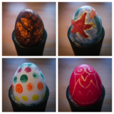 Painted eggs - Easter 2014