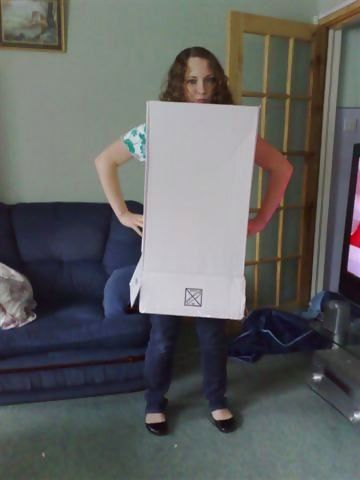 Yet another girl in a box