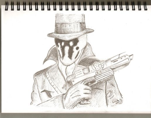 Rorschach from the film Watchmen
