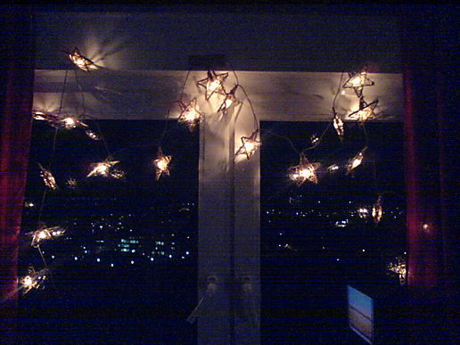 Put up the pretty lights. :)