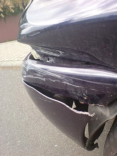 So, I wrecked my car today.
