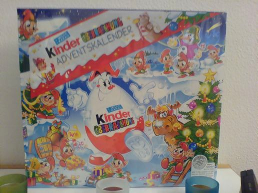 The Boy got ME a christmas calendar as well! :D