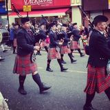 Houghton Feast parade