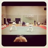 Karate competition.