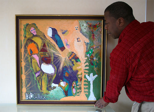 Portrait of a New York Artist: Darrell U. Black  by Hans D. Pflug