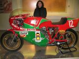 Fran and the Hailwood bike