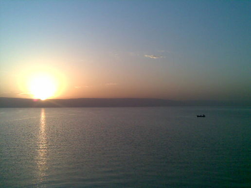 Sea of Galilee at dawn