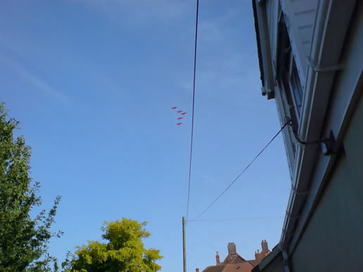 Red Arrows drop-in!