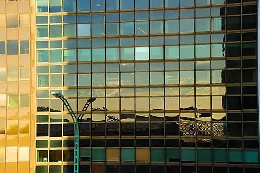 reflecting on Puerto Madero #1