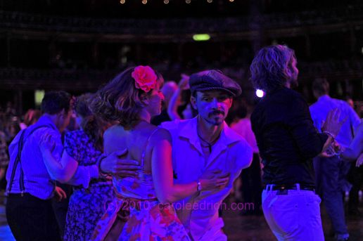 Swing party at the Royal Albert Hall