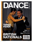 First front  cover of the year :) #image #photography #socialdance #tango @DanceTodayMag