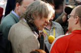 Bob Geldof visits G20Voice desk