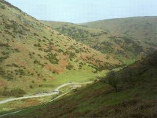 Carding Mill Valley.