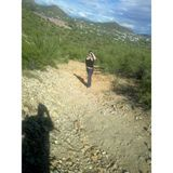 Hiking in southwest tucson.