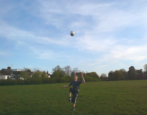 football in the park