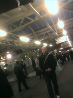 Standstill at sheffield station