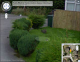 Streetview spotting - me, my village and my cat.