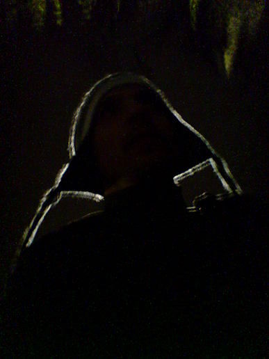 self portrait, night, riding
