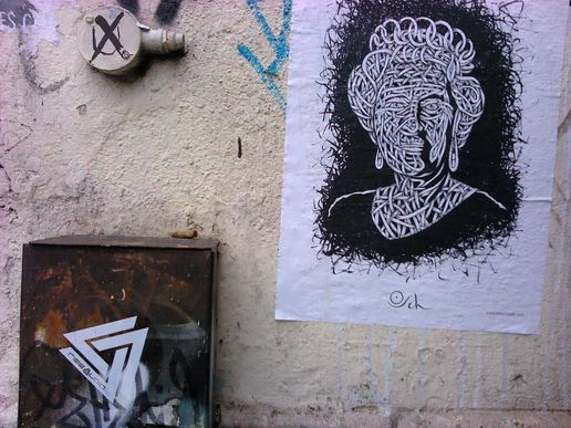 Britain little britain #paste up