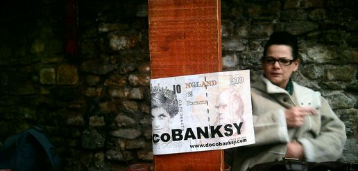 DocoBanksy #stickers