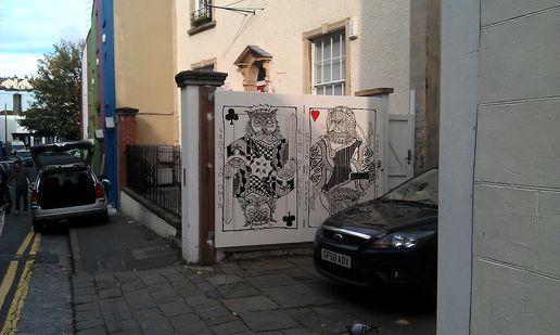 Doors of perception streeetart in bristol & Doors of perception streeetart in bristol at Noise Of Art