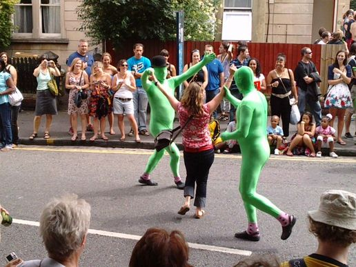 Green man st paul's carnival 09