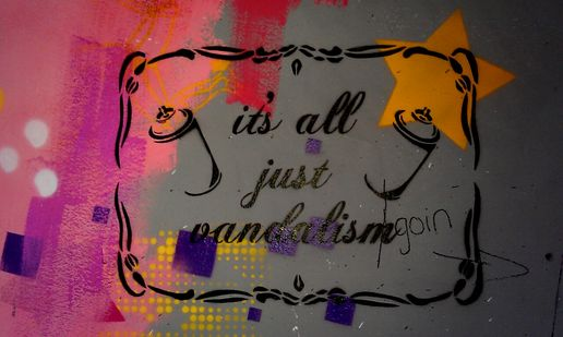 Its all just #streetart #stencil