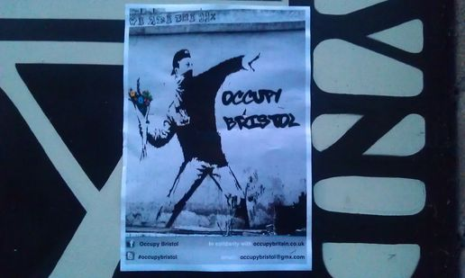 occupy #signs #banksy