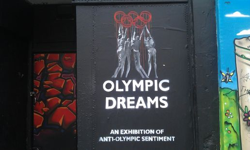 Olympic Dreams #streetart in bristol