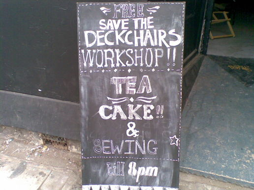 #signs save the deckchairs
