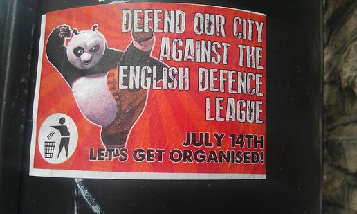 Stop edl march bristol flyers