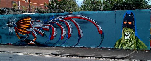 Streetart in bristol @andycouncil #freewall