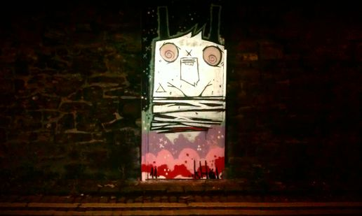 streetart night n day dreams