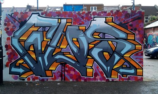 Levitra Couch Graffiti