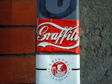 @adtweek @adbusters #graffiti stickers #streetart in bristol