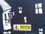 Cityscape (anti climb paint) #signs