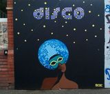 Disco - Streetart in Bristol