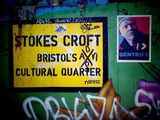 gentrify wheat paste in bristol