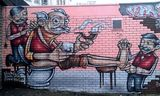 Streetart in bristol by Sepr