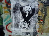 #streetart #pasteup by object bristol